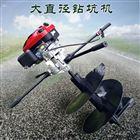 FX-WKJ螺旋种植打窝机 小型园林植树挖坑机视频