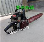 FX-QSJ加厚铲头式汽油起树机 链条式挖树机厂家