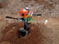 大棚埋桩挖坑机 多功能硬土植树地钻