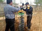 硬土质地钻挖坑机视频 栽树钻孔机