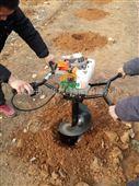 二冲程便携式地钻挖坑机 汽油种植机手提式