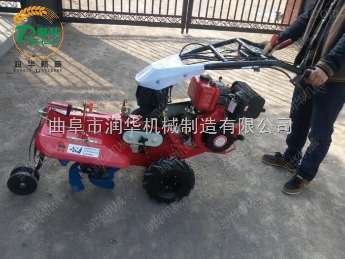 小型家用微耕机 多用途手扶式田园管理机