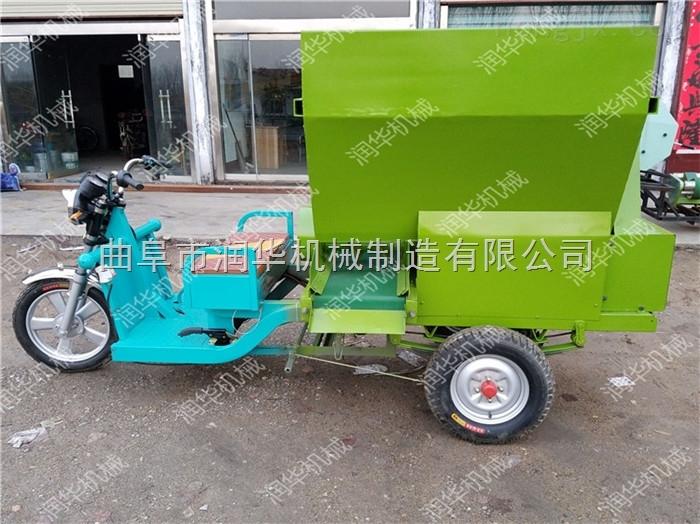 专业定做青贮取料机 柴油动力撒料车图片