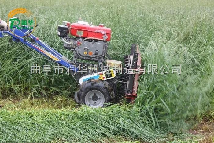 农用牧草养殖收割机 多功能辣椒割晒机图片