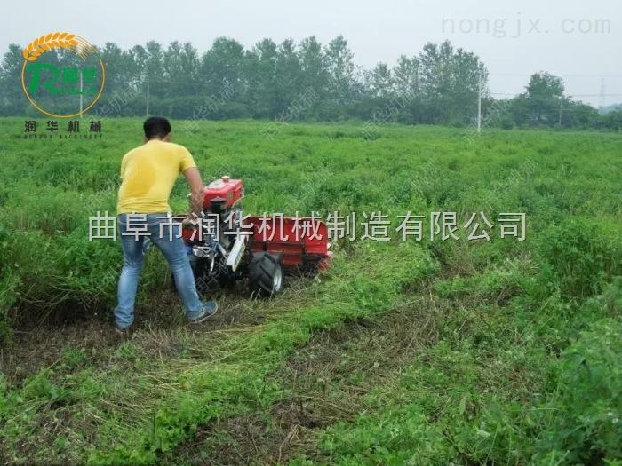 茴香苜蓿收割机 家用小型稻麦割晒机图片