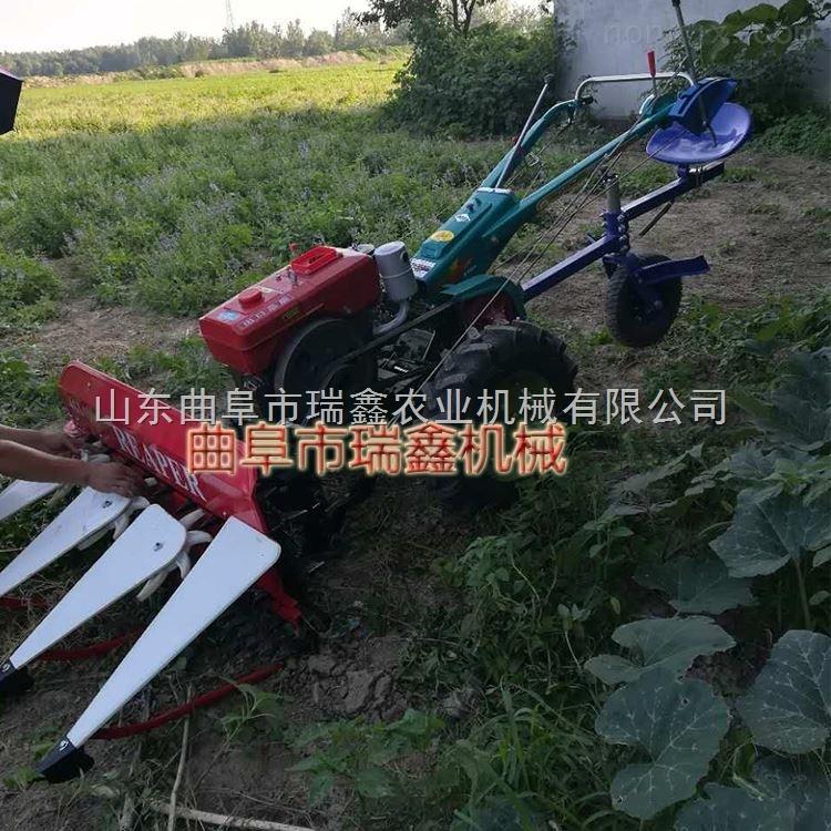 小型玉米割曬機 自走式蘆葦秸稈收割機
