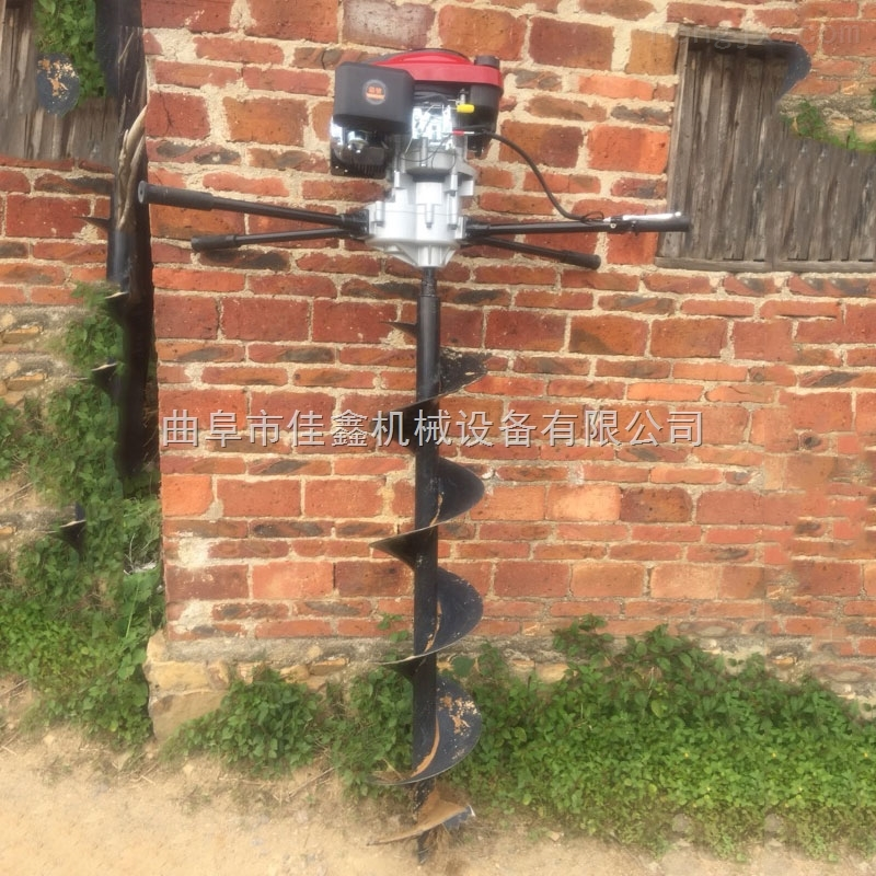 輕便手提挖坑機 葡萄園立柱埋樁機價格