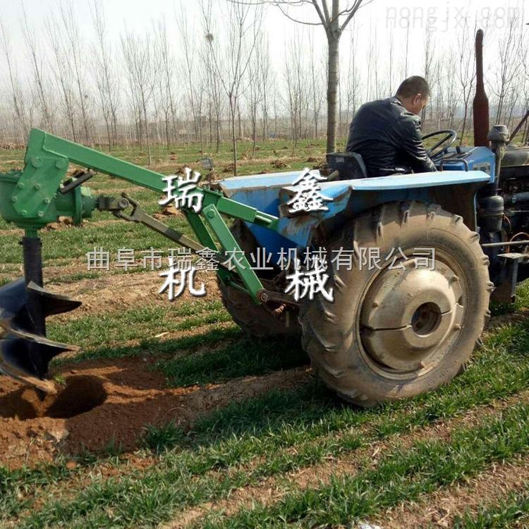 春季栽樹打坑機手提打樹坑機樹苗挖坑機