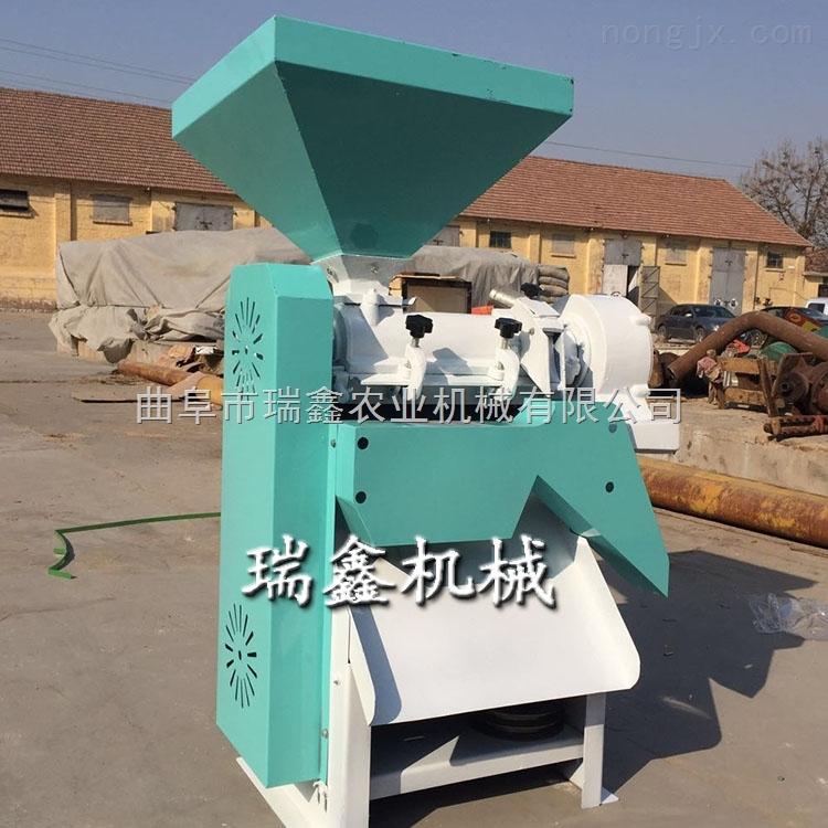 高效玉米深加工设备小型立式脱皮制糁机