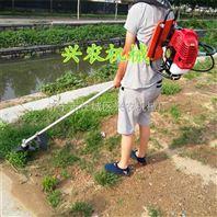 二冲程单肩背负式松土除草机 水稻收割机