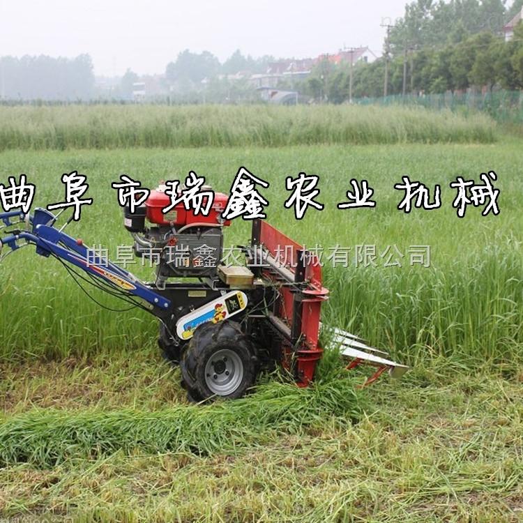 小型牧草收割机 家用小型稻麦割晒机