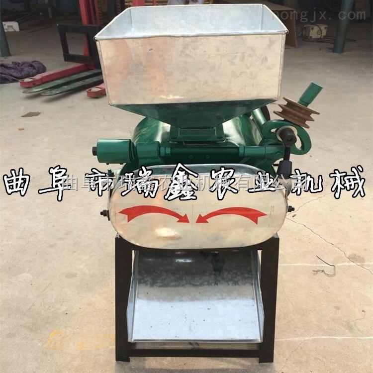 大豆玉米挤扁机 小型电动高粱花生米破碎机