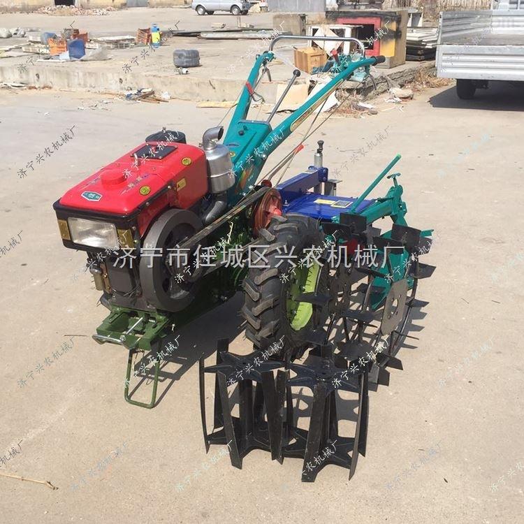 手扶车 小型多功能微耕机 小型两轮拖拉机