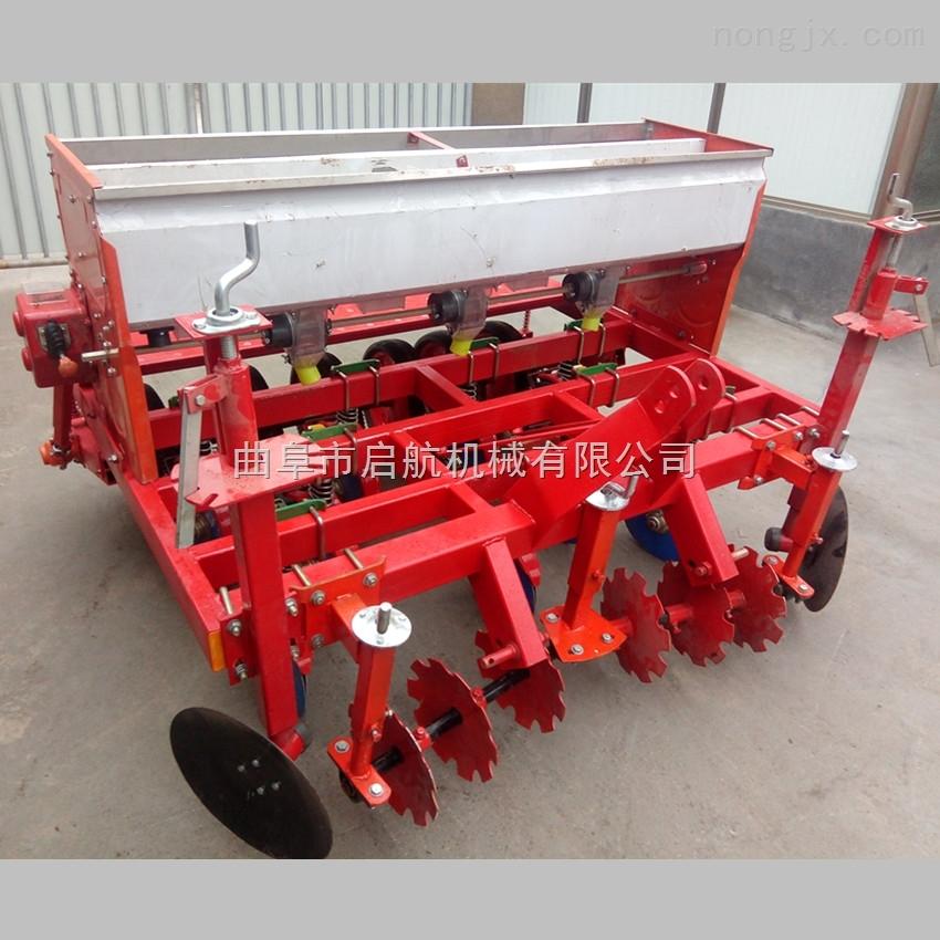 田地耕种精播机 汽油手推谷物播种机