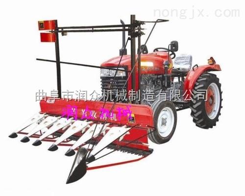 高杆作物收割机 根茎作物割晒机 水稻割捆机