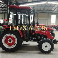 新款农用554四轮拖拉机节能省油旋耕打田机