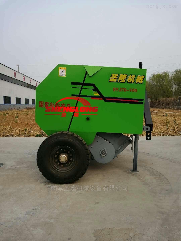 SL70100-拖拉机悬挂秸秆捡拾打捆机 稻草秸秆打包机