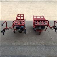 农田施肥出土动力推车 两轮汽油手推车车宽