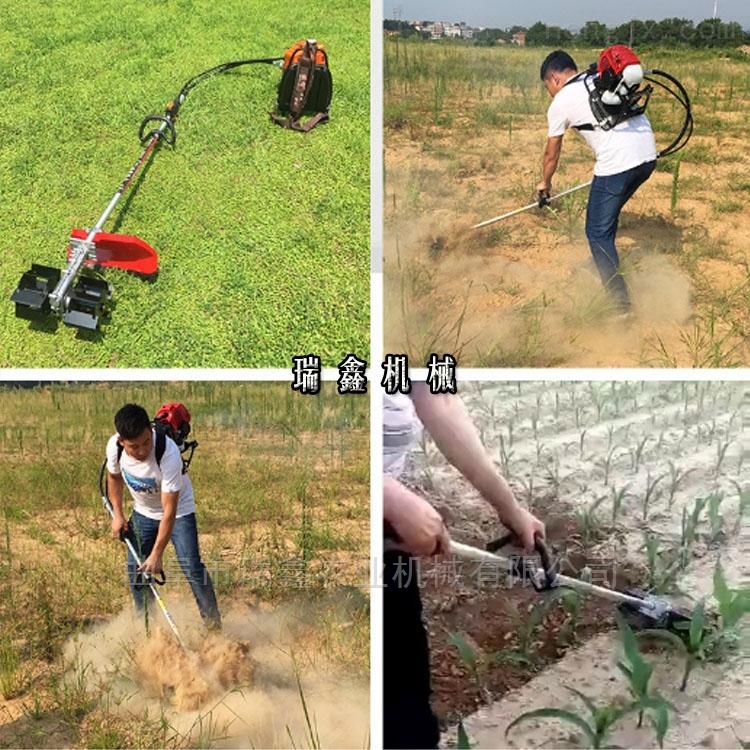小型收割园林草坪割灌机背负式打草机松土机