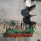 畅销全国各地汽油挖坑机 外型美观打坑机