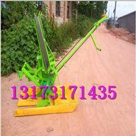 博阳02-3手摇两行插秧机秧苗整齐工作效率高