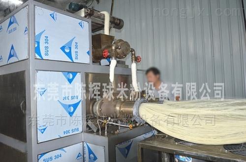 提供技术培训的陈辉球米粉加工设备
