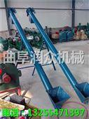 防腐蚀耐磨钢管提升机 不锈钢上料输送机