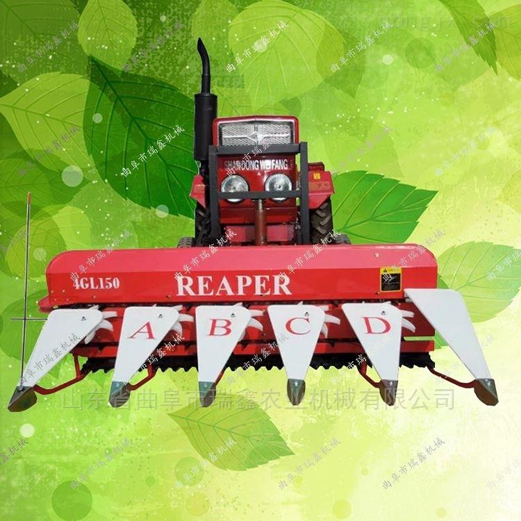 厂家直销小型稻麦收割机 艾草多功能割晒机