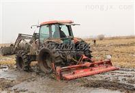 通轴式水田埋茬耕整机