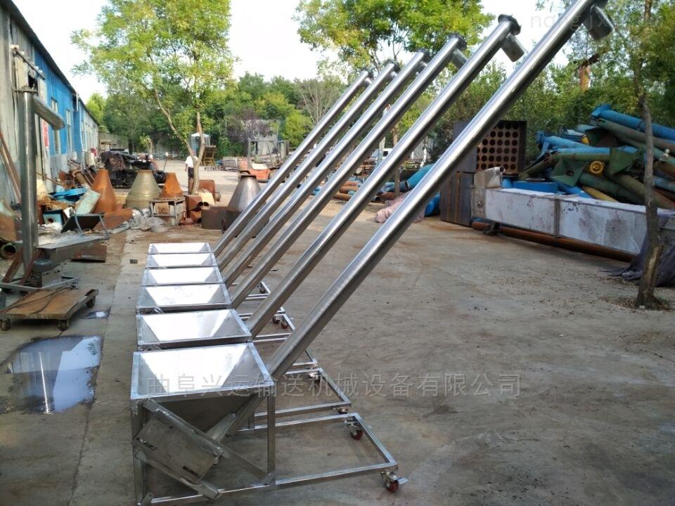 厂家生产各种管径提升机不锈钢绞龙输送机