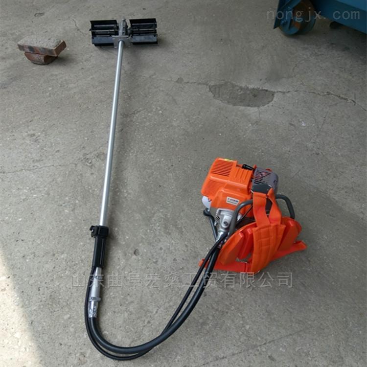 背负式小型松土机除草机 四冲程汽油锄草机