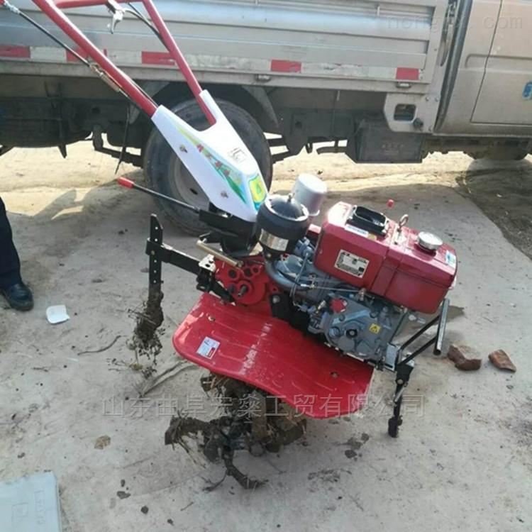 柴油手扶微耕机 手扶拖拉机犁地机