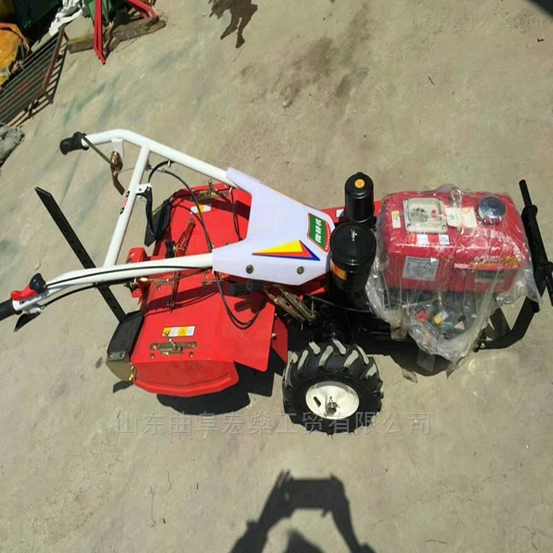 柴油手扶旋耕机翻地机除草机 农用手扶拖拉机