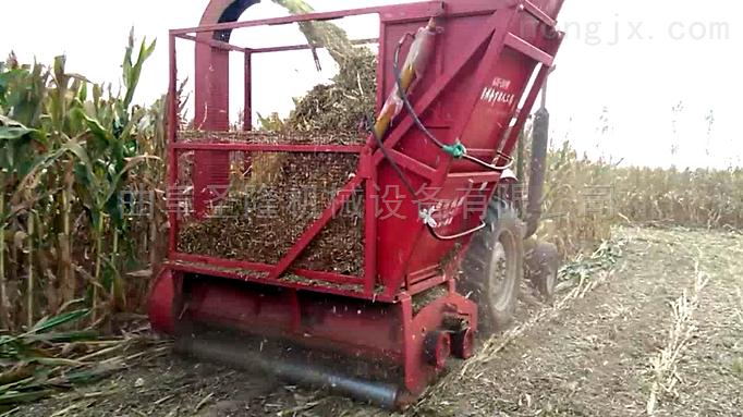 青饲料收获机 苞米秸秆收割回收机