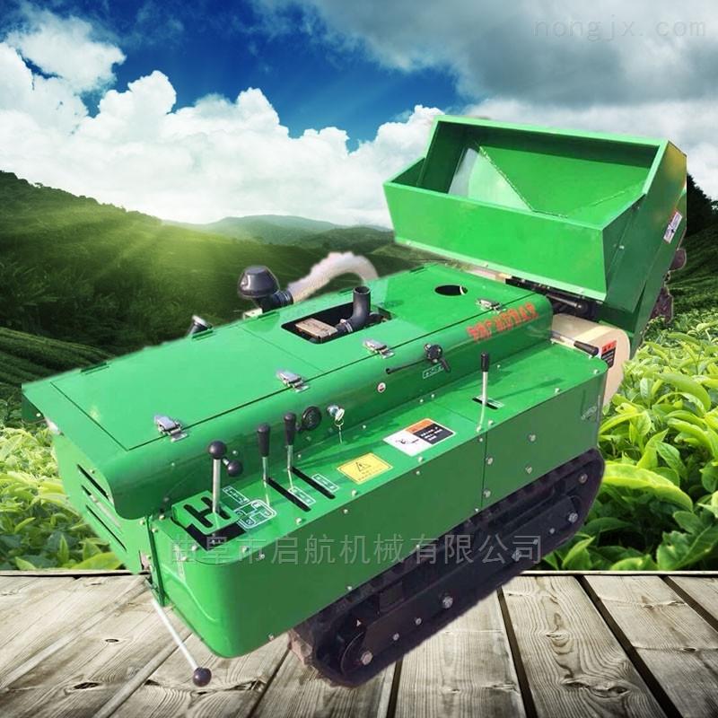 履带式拖拉机管理机 葡萄园自动开沟施肥机