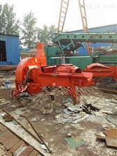 可定做南京供应小型树皮半自动铡草粉碎机