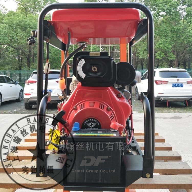 供应HANSI翰丝HS30DMP-W-80管径泥浆3寸柴油抽水机