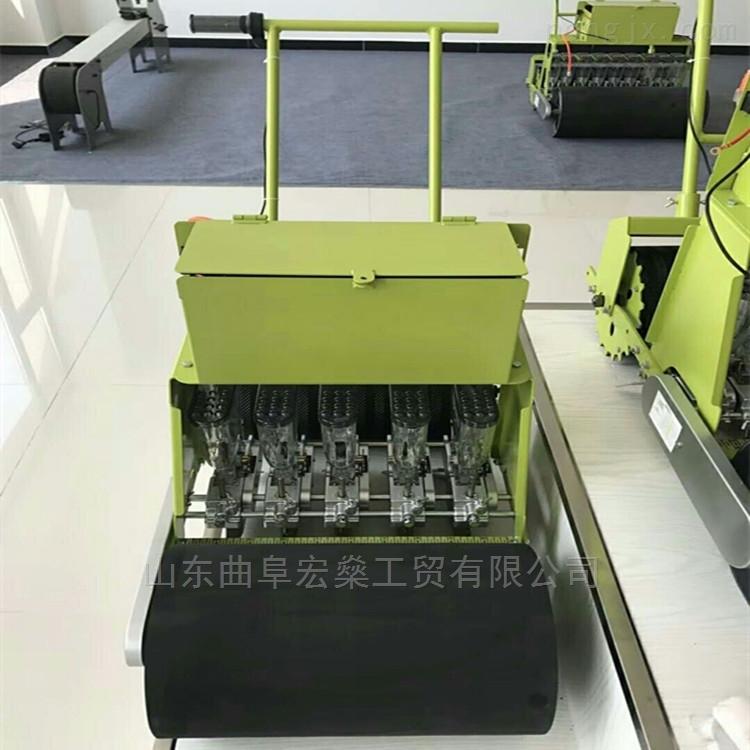 自走式电动六行八行蔬菜精量播种机