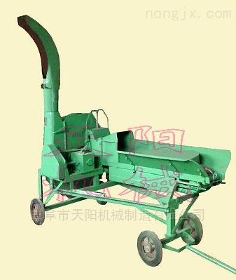 自动抛送式铡草机