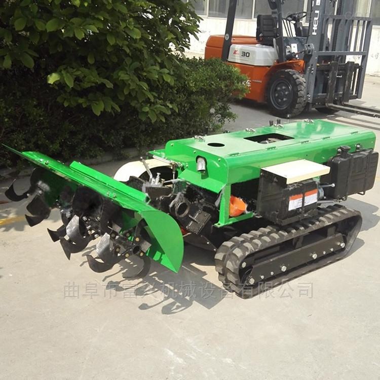 履带式旋耕机 自走式果园开沟施肥机型号