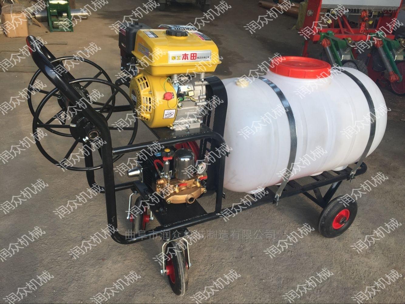 园林苗木除草杀虫喷雾器 自走式大型喷药机