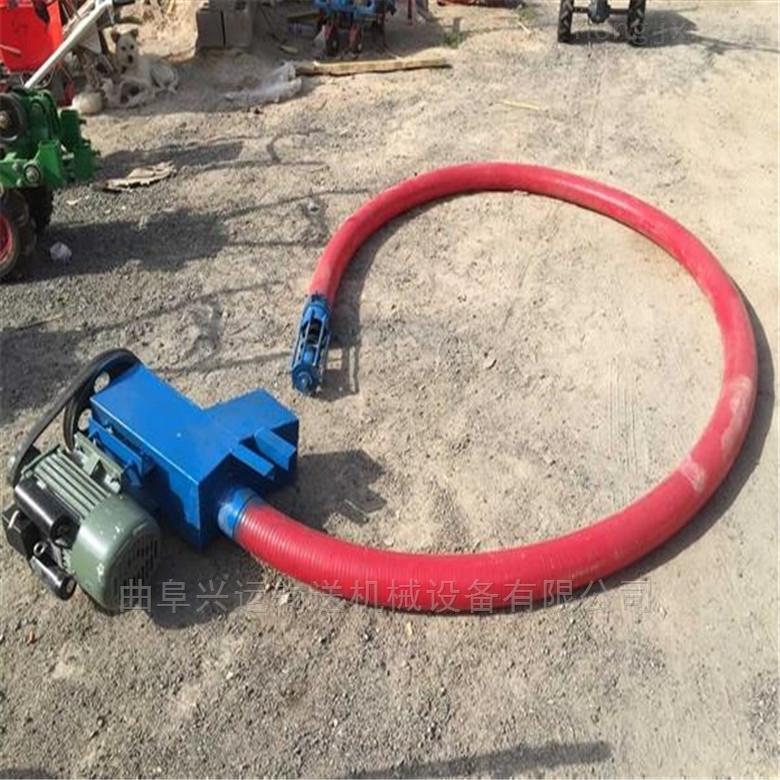 汽油机动力野外吸粮机  6米长软管上料机