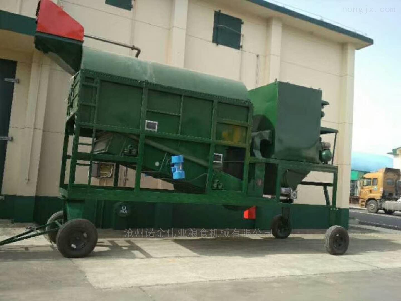 大型稻谷圓筒清理篩水稻環保篩選機