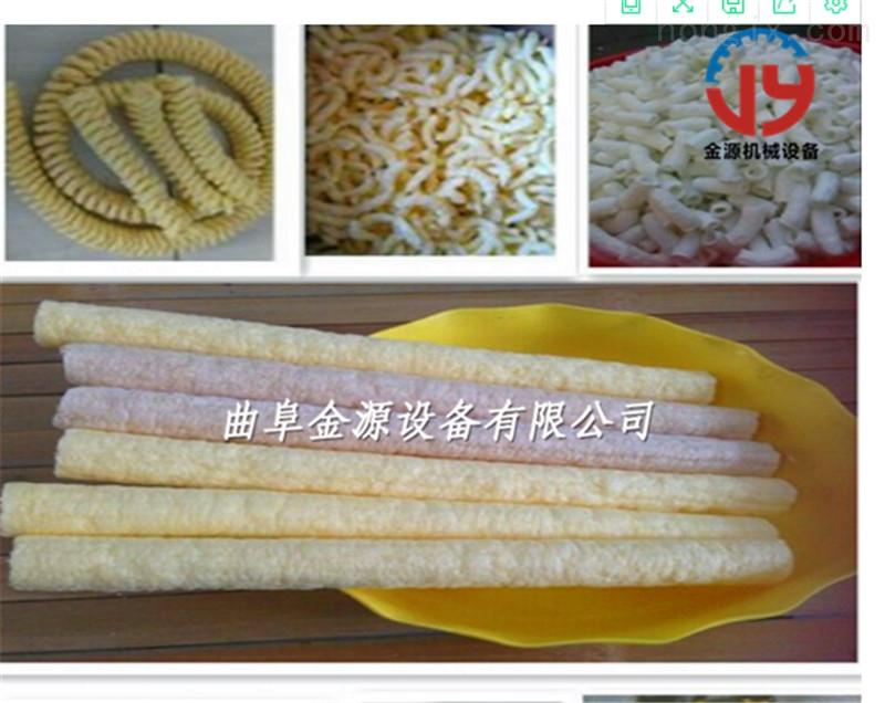大米棍玉米棒加工定做 小型食品膨化机价格