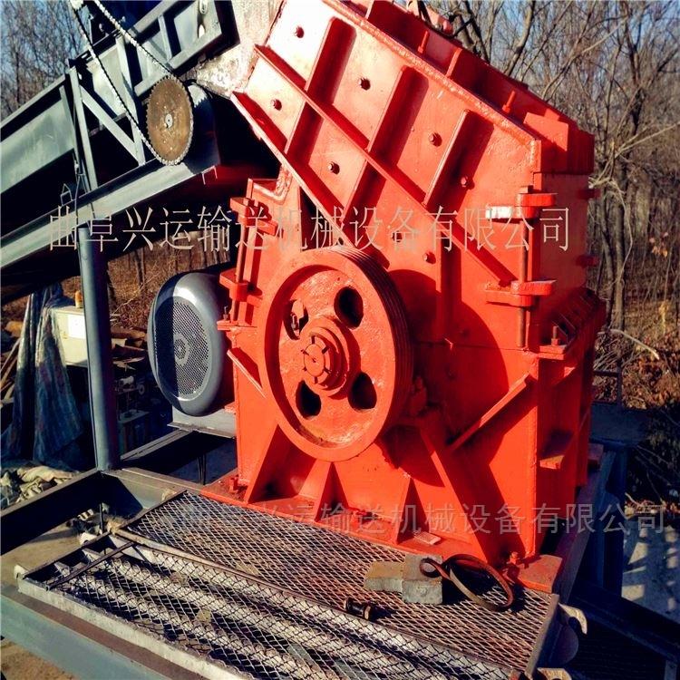 建筑垃圾彩钢瓦粉碎设备机油桶破碎机 生产厂家撕碎机1