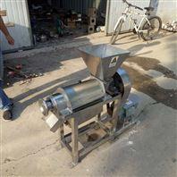 生活垃圾压榨脱水机 不锈钢猕猴桃榨汁机