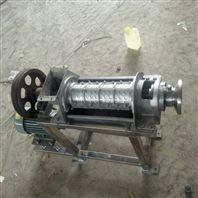 供应1.5吨不锈钢榨汁机 芒果榨汁破碎一体机
