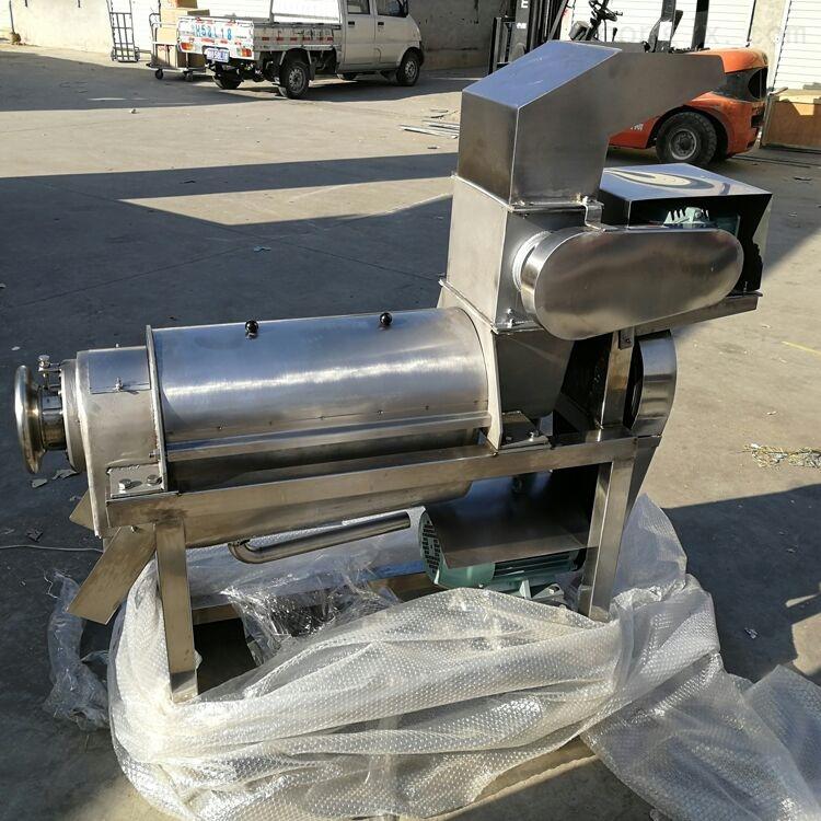优质不锈钢蔬菜挤压脱水机 生姜榨汁机厂家