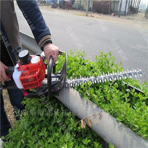 惠州茶园汽油绿篱修剪机 桧柏枝叶绿篱机