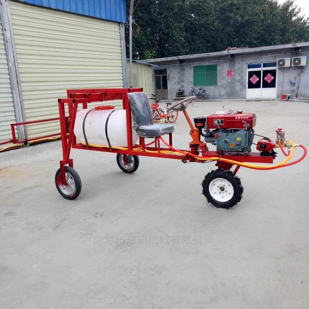 園林打藥機廠家 自走式打藥車 汽油噴霧器